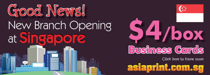 singapore printing | online singapore printing | asiaprint.com.sg | Singapore Business Cards Printing