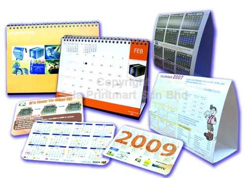 Calendar Printing Malaysia Calendar Printing Companies